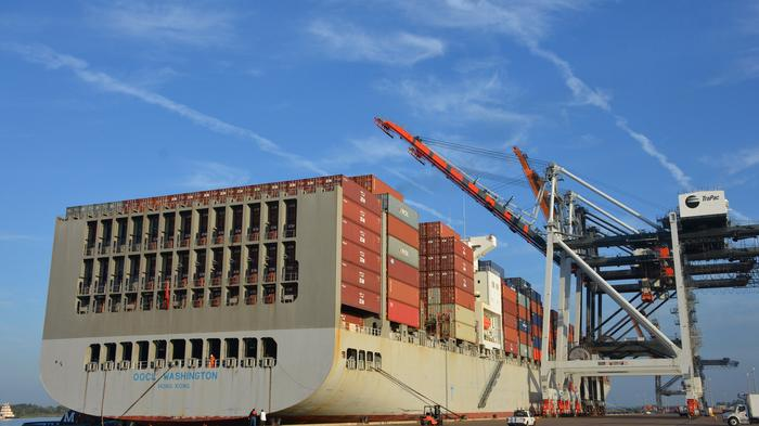 Asian cargo trade booming at Jaxport, for now
