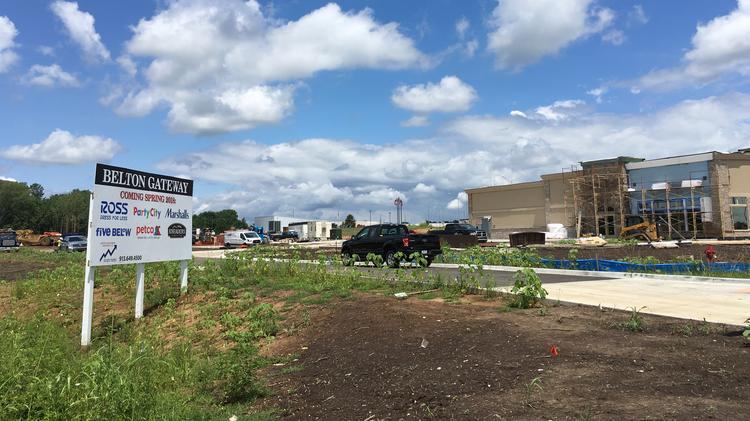 The Second Phase Of Belton Gateway Is Underway With Construction A Building That Will Be