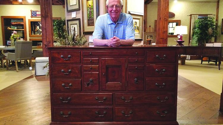 renowned triad artist to donate prototype dresser to n c museum of history greensboro triad. Black Bedroom Furniture Sets. Home Design Ideas