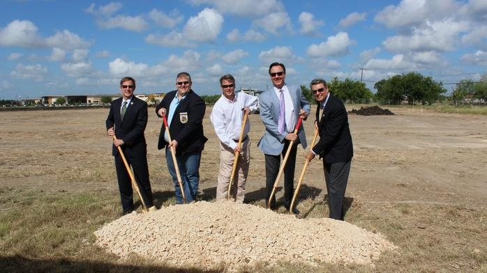 Large new office project breaks ground in New Braunfels