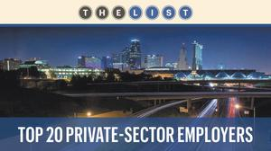 Top of the List: Largest private-sector employers