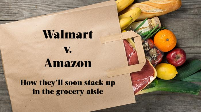 Wal-Mart can shrug off Amazon's grocery bid for now. Target, not so much