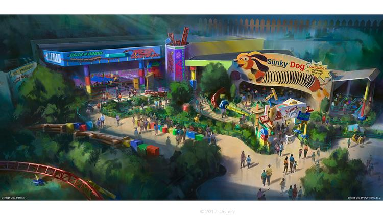 Disney Rdp Toy Story Land Opening Set Newest Ride Gets Accolades
