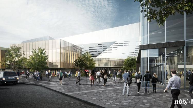 An Exterior View Of The Major Expansion Planned For Lexington S Rupp Arena