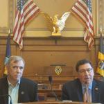 Peduto, senator hold green economy panel