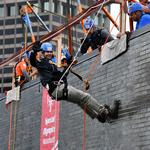 Massachusetts execs go 'Over the Edge' for Special Olympics
