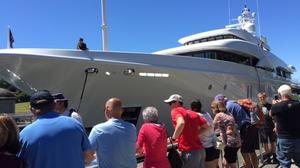 Heads turn as the mega-yacht Avanti slips into Seattle (Photos)