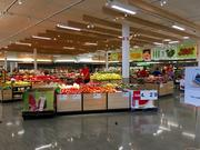The revamped grocery section at the Target Midway store.