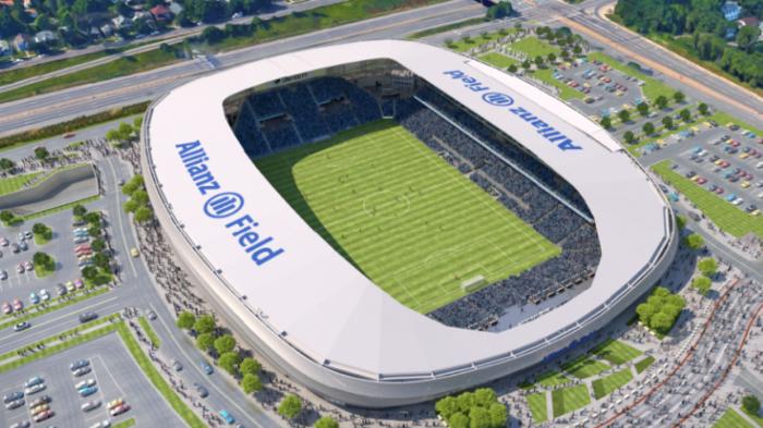 Allianz buys Minnesota United soccer stadium rights