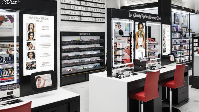 Retail: Sephora has a new look