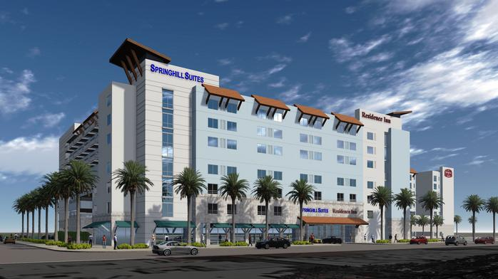 Two new interconnected hotels opening in Clearwater Beach next month