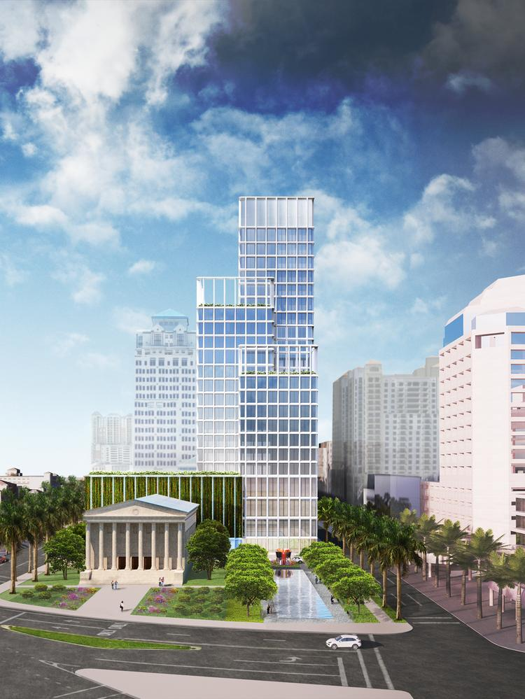 The Related Cos Plans To Build 25 Story One Flagler Office Building At