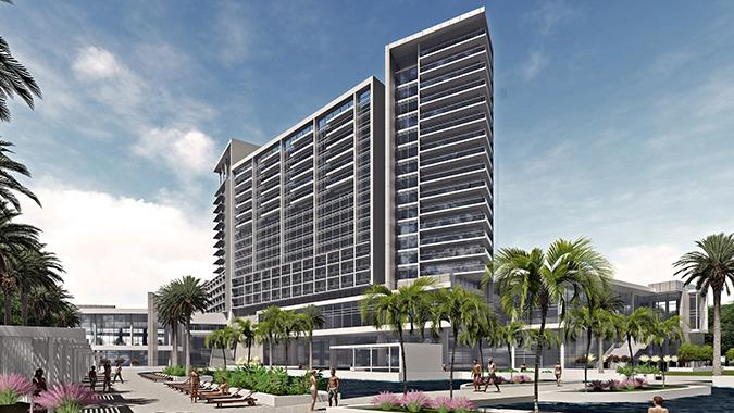Additional Rendering Of 516 Room Luxury Jw Marriott Hotel Planned For A 2019 Opening