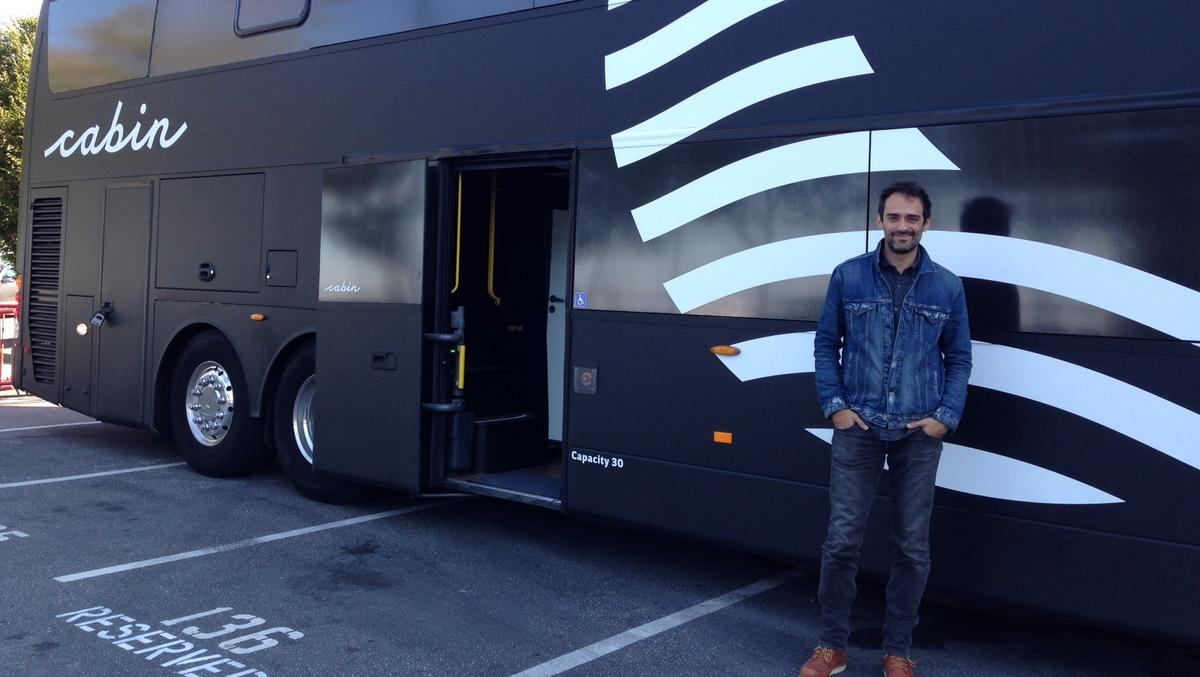 Luxury sleep bus cabin sells out pilot trip from san for Cabin los angeles