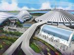 New Disney permits show placement of Tron coaster at Magic Kingdom
