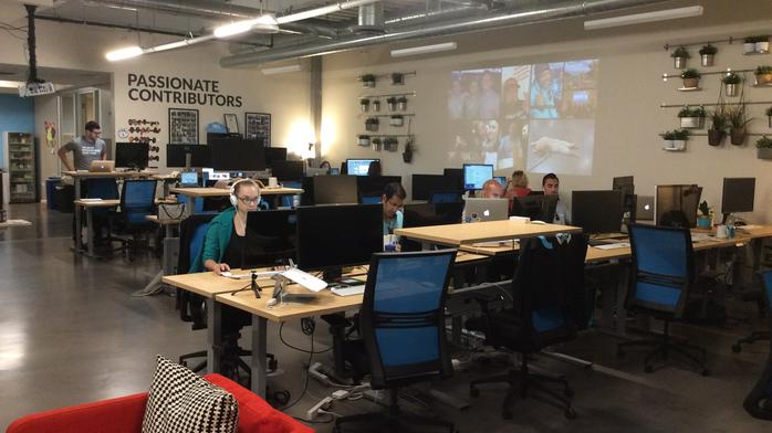 DBJ Offices: Tour Cloud Elements' 'science' space in RiNo's Industry complex (Photos) (Video)
