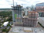 Medical Center hotel under construction reaches highest point