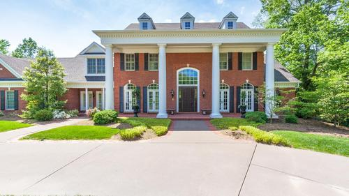 No Details Forgotten in This Sprawling Ladue Home
