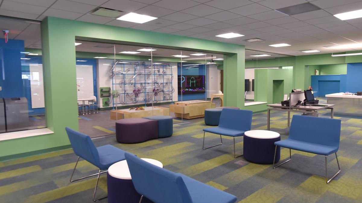Peek inside a newly renovated St. Louis County Library ...