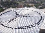 Time-lapse of Mercedes-Benz Stadium roof released