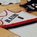 5 takeaways as the Trail Blazers unveil their Nike-made uniforms (Photos)