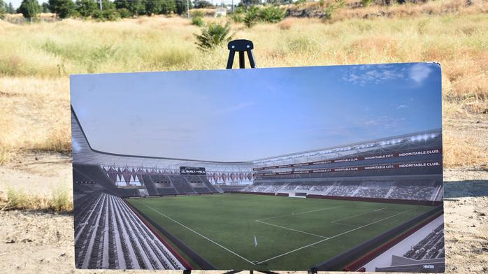 Sacramento Republic FC begins construction months ahead of MLS decision (PHOTOS)