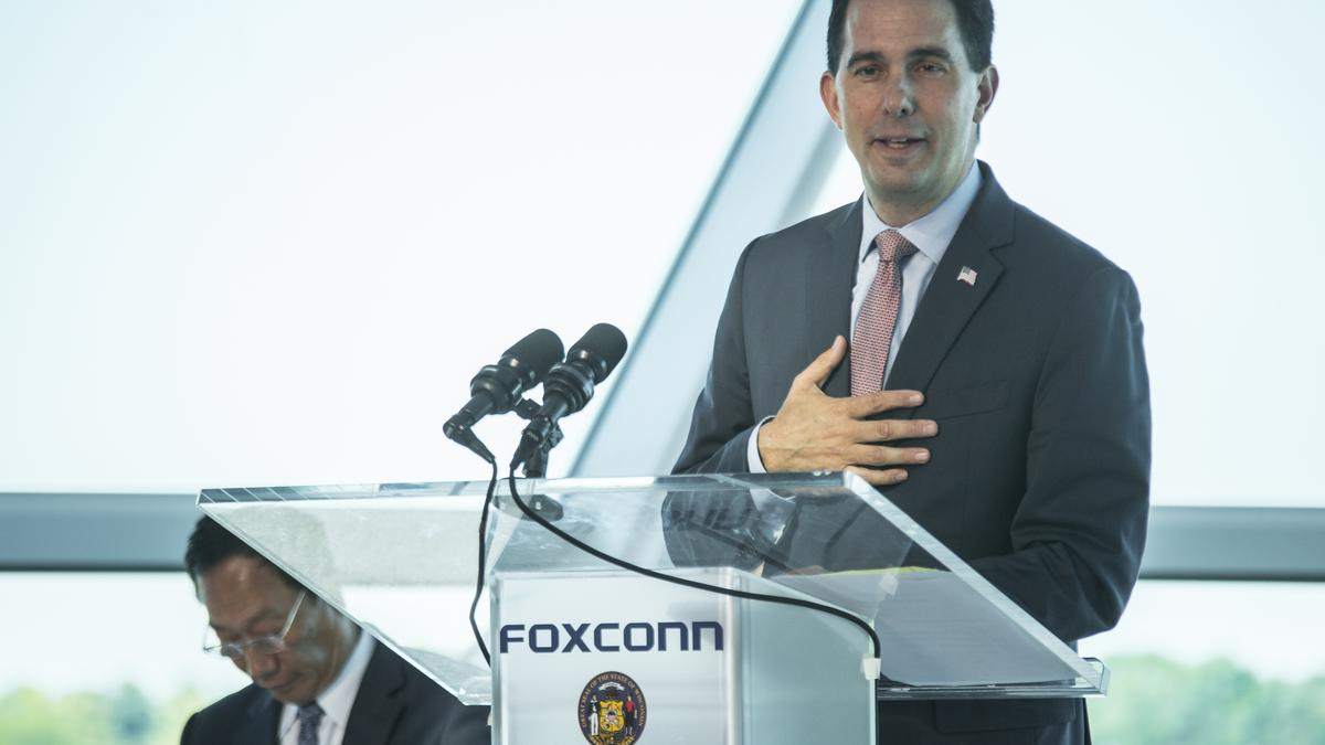 Foxconn legislation includes $10M in tax credits to keep ...