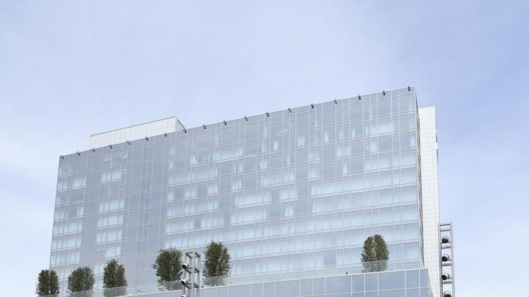 The 16-story Omni Frisco Hotel is currently the tallest building in Frisco.