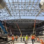 See Bucks' arena construction as project passes halfway point