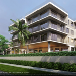 Developers file plans for two apartment projects in Hallandale Beach (Renderings)
