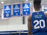 Look: Sixers' Markelle Fultz debuts team's new Nike jerseys