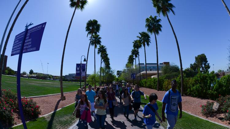 Grand Canyon University To Spend 100m In Construction