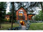 Dream Cabins: Four-level log home on private island listed for $1.99