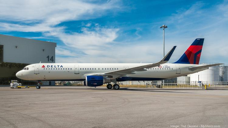 Delta Air Lines ranks second on J D  Power airline