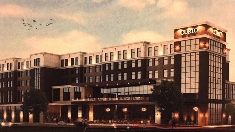 A Birmingham Developer Is Looking To Start Construction On Curio By Hilton Hotel In Homewood