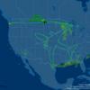 Weird plane-shaped Boeing 787 flight path crossed Colorado