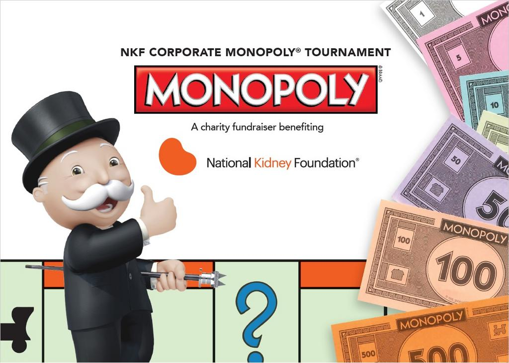 NKF Corporate Monopoly® Tournament 2018