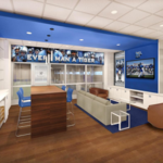 Construction company scores with football facility contract