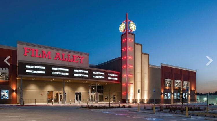 The entertainment destination, called Film Alley, is slated to open next September.