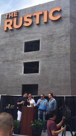 Texas country music star unveils new restaurant and music venue at The Rim