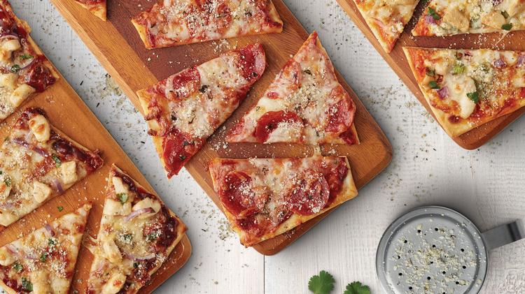 Flatbread Pizzas In Several Flavors Are Now At The Menu AMC Movie Houses Chicago