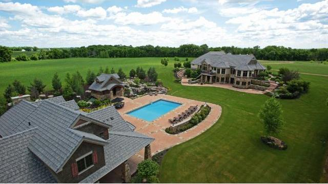Dream Homes 40 Acre Estate With Lavish Pool Guest House Listed For 3 74 Million Photos Minneapolis St Paul Business Journal