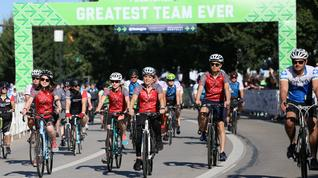 Would you use an app to raise money for Pelotonia?