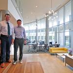 Photos: Tour this modern co-working space inside a Houston luxury apartment complex