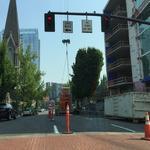 Portland punishes construction companies that block traffic