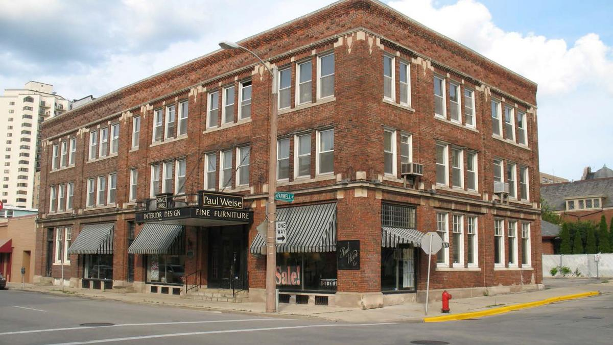 Paul Weise Furniture Building Earns Historic Protection Planning Continues For Redevelopment