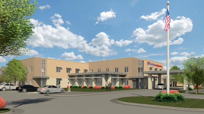 Derby one piece of larger facilities plan for cardiology practice
