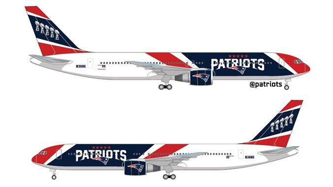 In an NFL first, Patriots buy their own planes