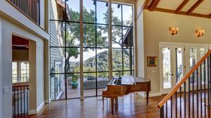 Extraordinary Gated home with World-Class Views of Mount Tam, Ross Valley, and the Bay