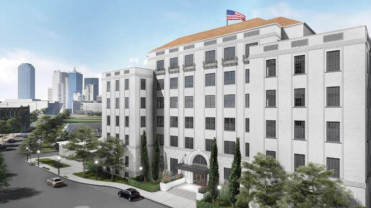 The historic Ambassador will be converted into a micro-unit community near downtown Dallas.